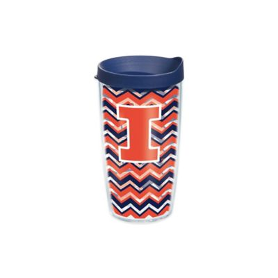 Tervis® University of Illinois Chevron Wrap 16 oz. Tumbler with Lid