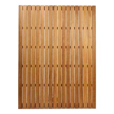 ARB Teak & Specialties 48-Inch x 36-Inch Teak Wood Shower Mat