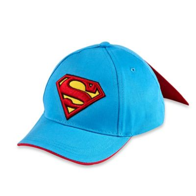 Toddler Superman Baseball Cap with Cape