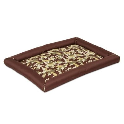 SnooZZy® Durable Crate Mat 3000 in Brown Camo