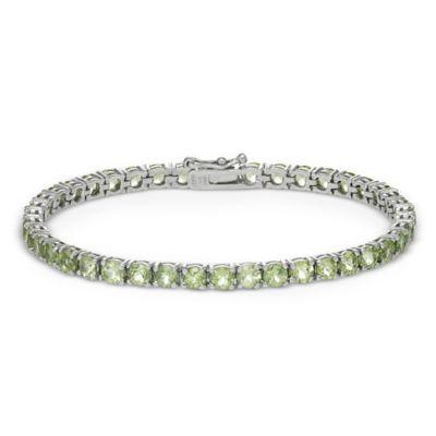 Peridot Line Bracelet