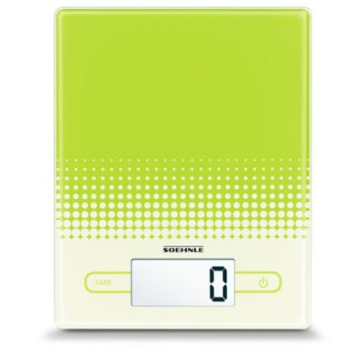 Soehnle CITY Precision Digital Food Scale in Yellow