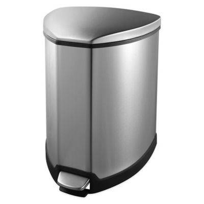Soehnle 5L Grace Trash Can in White
