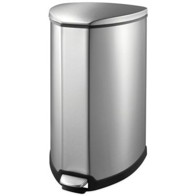 Soehnle 35L Grace Trash Can in Stainless Steel