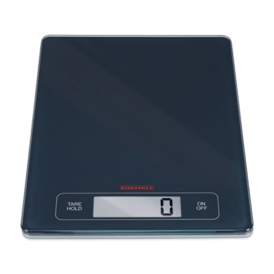 Soehnle PAGE PROFI Precision Digital Sensor Touch Food Scale in Grey