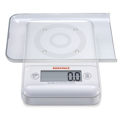 Soehnle ULTRA 2.0 Precision Digital Food Scale in White