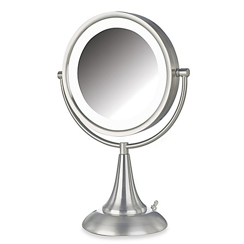 Buy Jerdon 8x 1x Led 15 Inch Lighted Vanity Mirror In