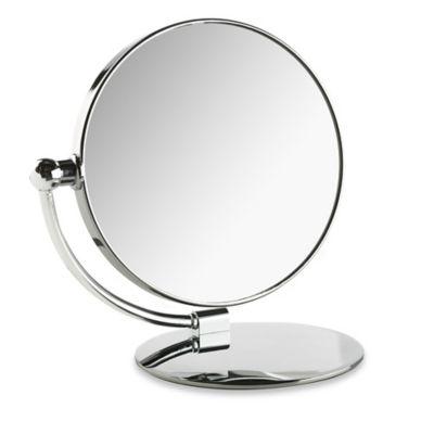 Taymor® 1x/7x Round Folding Vanity Mirror