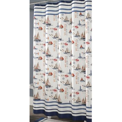 J. Queen New York Voyage Shower Curtain