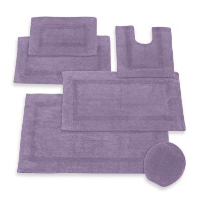 Red Purple Bath Rugs