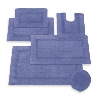 Periwinkle Towels and Rugs