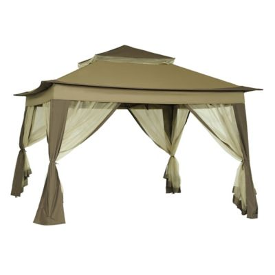 Sunjoy 10-Foot x 10-Foot Quick Set Up Folding Gazebo