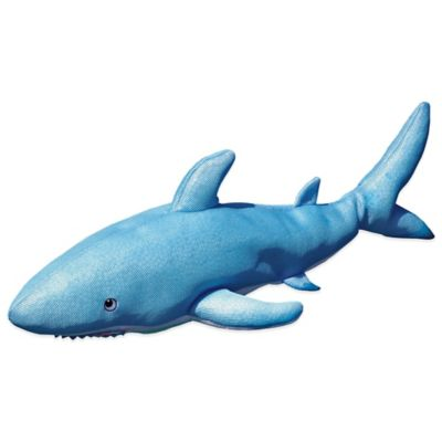 Pool Petz Floating Shark in Blue/White