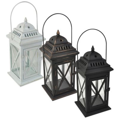 Traditional Lantern in White