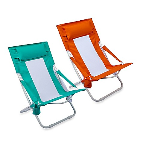 Bed pillow chair - Folding Hammock Beach Chair Bedbathandbeyond Ca
