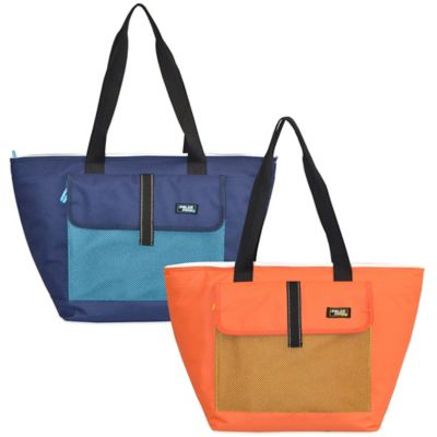 Cooler Beach Tote in Orange