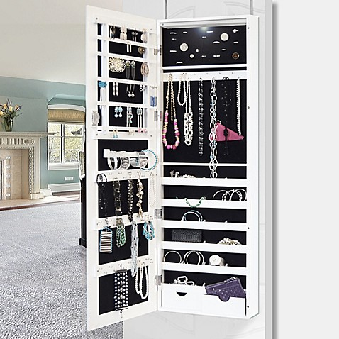 Buy New View Jewelry Cabinet With Led Light From Bed Bath