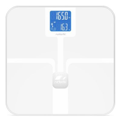 Runtastic Libra Bluetooth Smart Bathroom Scale in White