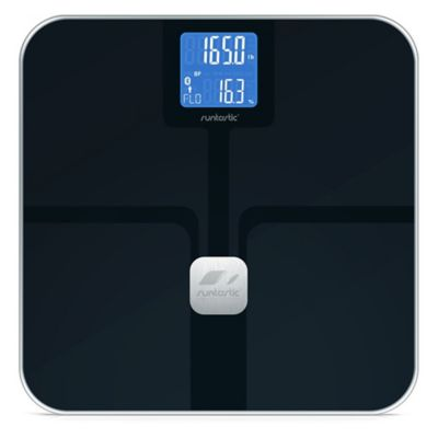 Runtastic Libra Bluetooth Smart Bathroom Scale in Black