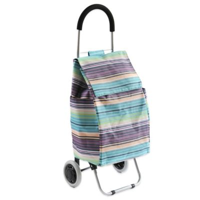 Typhoon® Shopping Cart in Purple Stripe