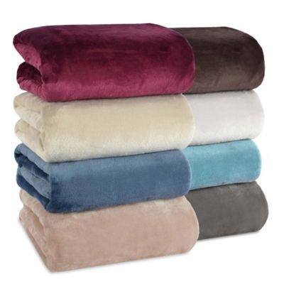 Spa Blue Blankets & Throws