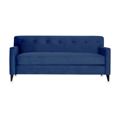 Kyle Schuneman for Apt2B Harrison Mini Apartment Sofa in Blueberry