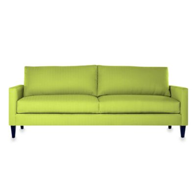 Apt2B Clark Sofa in Chartreuse Living Room