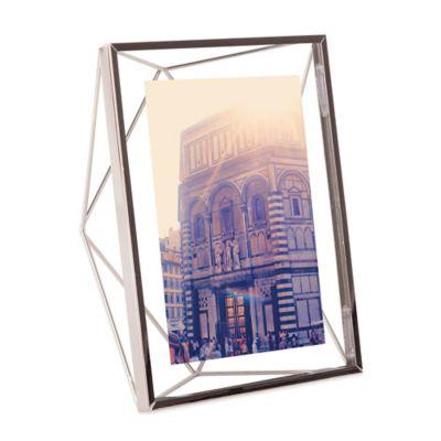 Umbra® Prisma 5-Inch x 7-Inch Photo Frame in Chrome