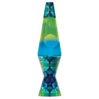 Lava Lite® 14.5-Inch Colormax Geometric Lava Lamp with 2-Color Globe for Multicolor Effect