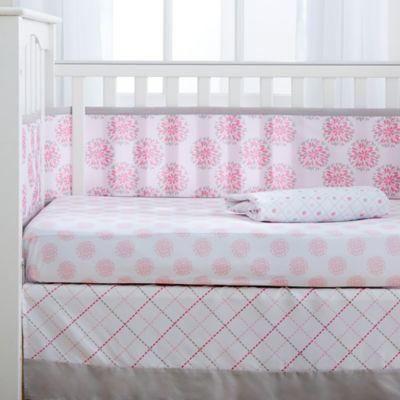 BreathableBaby® Dahlia 4-Piece Crib Bedding Set