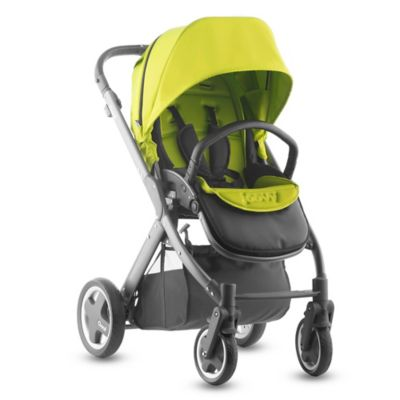 Joovy® Qool Single Stroller with Graphite Grey Frame in Apple