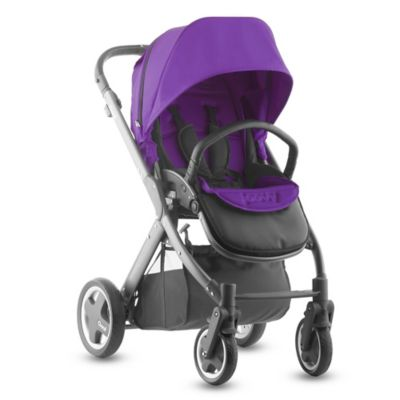 Joovy® Qool Single Stroller with Graphite Grey Frame in Purpleness