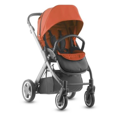 Joovy® Qool Single Stroller with Graphite Grey Frame in Spice