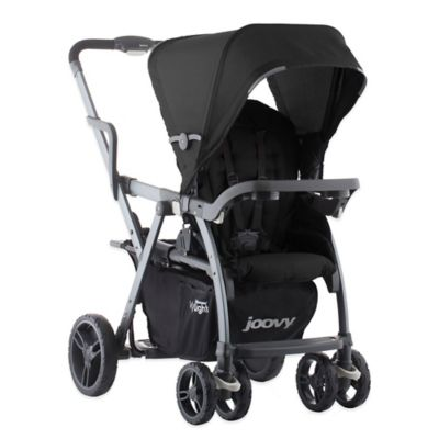 Joovy® Caboose VaryLight Graphite Double Stroller in Black