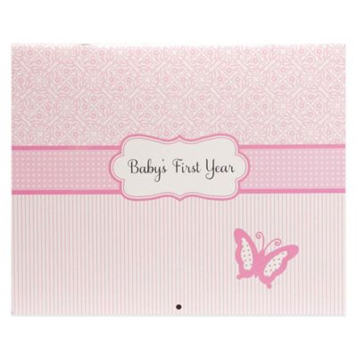 "C.R. Gibson Bella ""Baby's First Year"" 12 Month Calendar Book"