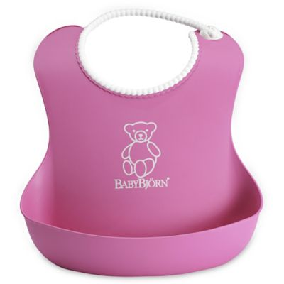 BabyBjörn® Soft Bib in Pink