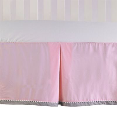Living Textiles Crib Skirt