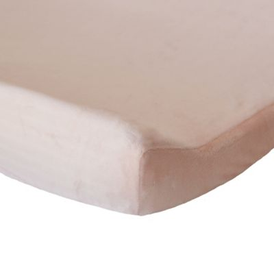 Oliver B Mix & Match Minky Changing Pad Cover in Pink