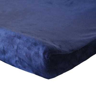 Oliver B Mix & Match Minky Changing Pad Cover in Navy