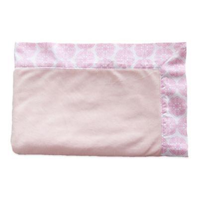 Oliver B Minky Stroller Blanket in Pink