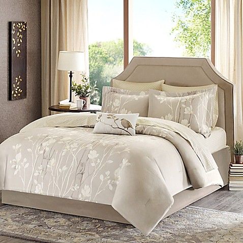 Madison park vaughn comforter set bed bath beyond - Bed bath and beyond bedroom furniture ...