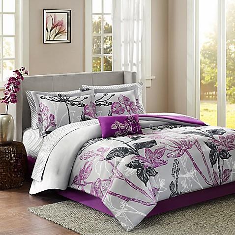 Madison Park Claremont Reversible Comforter Set Www