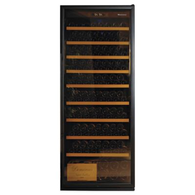 Wine Enthusiast 300-Bottle Wine Cellar in Black