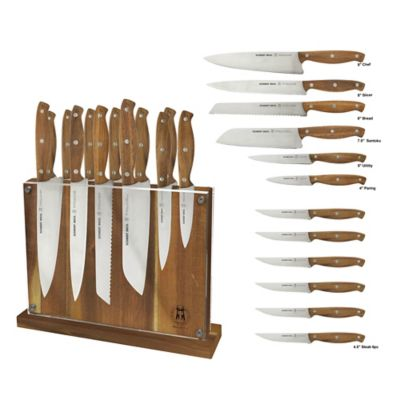 Schmidt Brothers® Acacian 13-Piece Knife Block Set