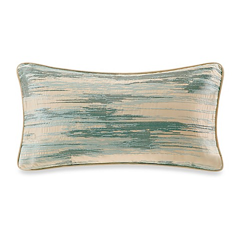 Buy Metropolitan Home Elements Oblong Throw Pillow in Blue from Bed Bath & Beyond