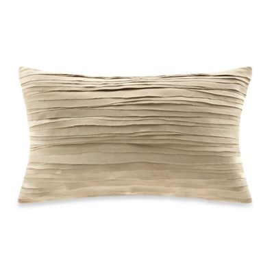 Metropolitan Home Elements Oblong Throw Pillow in Tan