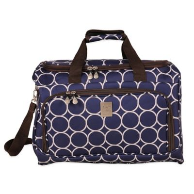 Jenni Chan Aria Park Ave City Duffle in Navy