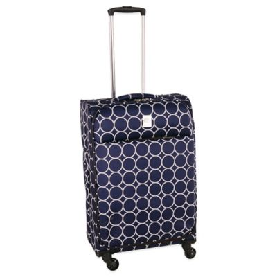 Jenni Chan Aria Park Ave 25-Inch Spinner in Navy