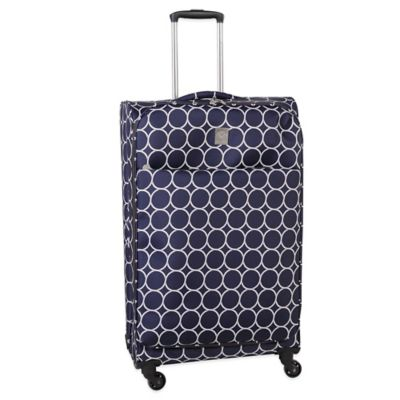 Jenni Chan Aria Park Ave 28-Inch Spinner in Navy