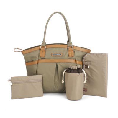 Perry Mackin Harper Diaper Bag in Olive